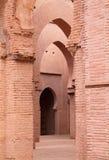 Kartbok Marrakesh Marocko för Tinmal moskékick Arkivfoto
