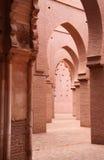Kartbok Marrakesh Marocko för Tinmal moskékick Fotografering för Bildbyråer