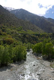 Kartbok Ourika dal morocco Royaltyfria Foton