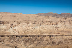 Kartbokberg, Chebika, gräns av Sahara, Tunisien Arkivbilder