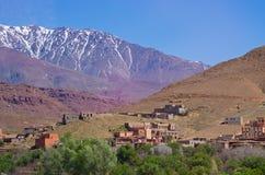 Kartbokberg i Marocko Royaltyfria Foton