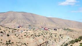 Kartbokberg landskap, Marocko Royaltyfri Fotografi
