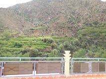 Kartbokberg marrakech Arkivbild