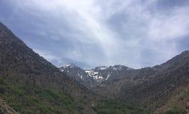 Kartbokberg nära Toubkal Royaltyfri Bild