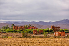 Kartbokberg Ouarzazate morocco Arkivfoton