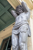 kartbokens skulptur en blick med en botten Royaltyfri Fotografi