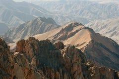 kartbokmorocco berg Arkivbilder