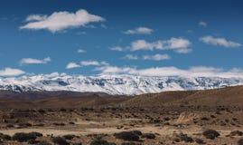 kartbokmorocco berg Arkivbild