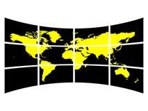 Karte Lizenzfreie Stockbilder