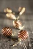 Karte der frohen Weihnachten und des guten Rutsch ins Neue Jahr Stockfotografie