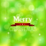 Karte der frohen Weihnachten, Vektor lizenzfreie abbildung