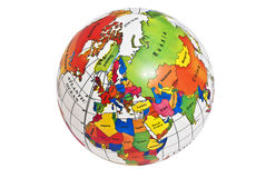 Karte der Nordhalbkugel lizenzfreie stockfotos