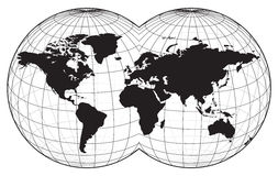 Karte der Welt vektor abbildung
