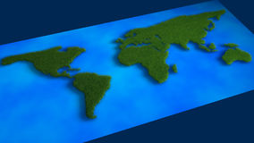 Karte des Grases Lizenzfreies Stockbild
