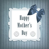 Karte des Mutter Tages Lizenzfreie Stockbilder