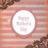 Karte des Mutter Tages Stockbild