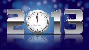 Karte des neuen Jahr-2013 Stockfotografie