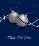 Karte des neuen Jahres Stockbilder