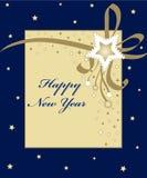 Karte des neuen Jahres Lizenzfreies Stockbild