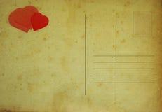 Karte des Valentinsgrußes Lizenzfreie Stockfotos