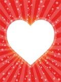 Karte des Valentinsgrußes Stockbilder
