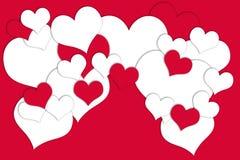 Karte für Valentine& x27; s-Tag Stockfotos