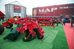 KARTE - Landwirtschaftliche Leistungs-Maschinerie Lizenzfreie Stockbilder