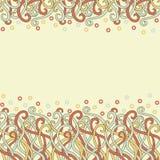 Karte-Schablone Stockbild