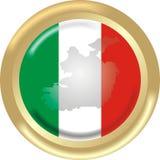 Karte und Markierungsfahne aus Irland Lizenzfreie Stockfotografie