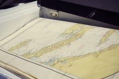 Karte von Adria lizenzfreie stockbilder