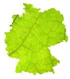 Karte von Deutschland Stockbilder