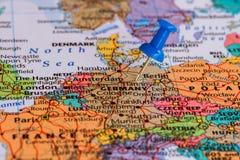 Karte von Deutschland Lizenzfreie Stockfotos