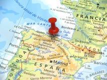 Karte von Europa Lizenzfreies Stockbild