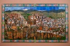 Karte von Rondo. Spanien. Lizenzfreies Stockbild