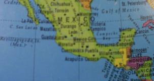 Karte von Staaten von Amerika stock video