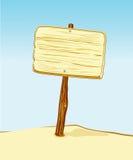 Kartel van hout Stock Foto's