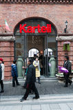 Kartell shoppar på den Han gatan Royaltyfri Bild