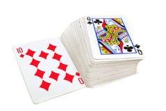 Karten Lizenzfreies Stockfoto