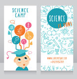 Karten für Wissenschaftslager Lizenzfreies Stockbild