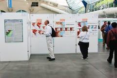 Karten-Galerie der ESRI Benutzer-Konferenz-2010 Stockfotos