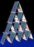 Karten-Stapel stock abbildung