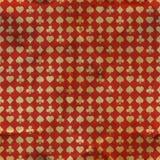 Kartenklagen. Nahtloses Muster. stock abbildung
