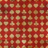 Kartenklagen. Nahtloses Muster. lizenzfreie abbildung