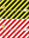 Kartenkredit Lizenzfreies Stockbild