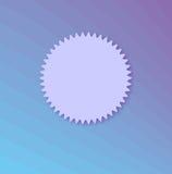 Kartenschablone für Design Lizenzfreies Stockbild