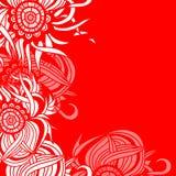 Kartenschablone für Design Lizenzfreie Stockfotografie