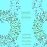 Kartenschablone für Design Stockbild
