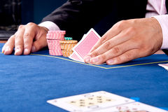 Kartenspiel Lizenzfreie Stockfotografie