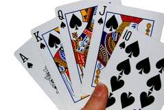 Kartenspiel Stockfotos