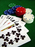 Kartenspiel lizenzfreies stockbild